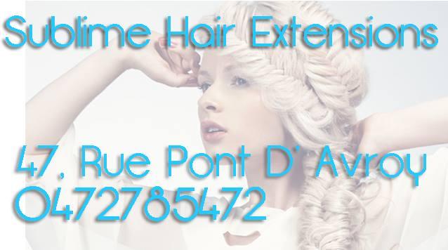 Salon de coiffure liège Extensions