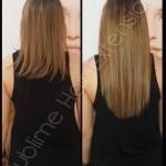 extensions coiffeur avant apres