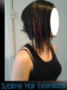extensions cheveux court carré plongant liege9